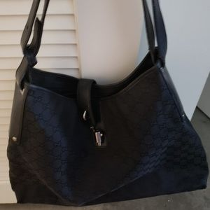 Large Black Gucci Bag - Last Day to buy!!